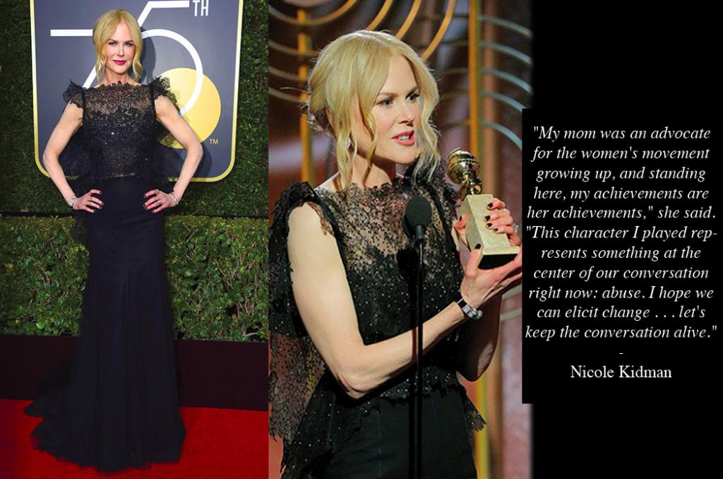 Golden Globes Nicole Kidman